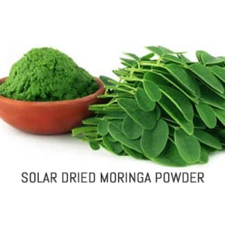 Organic Solar Dried Moringa Powder
