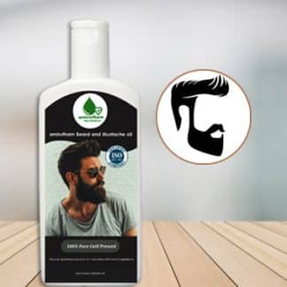 beard and mustache oil