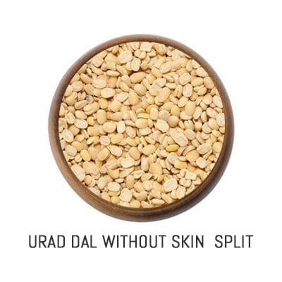 urad dal without skin split